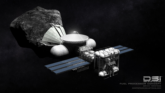 Deep Space Industries joins the asteroid gold rush | Space ...