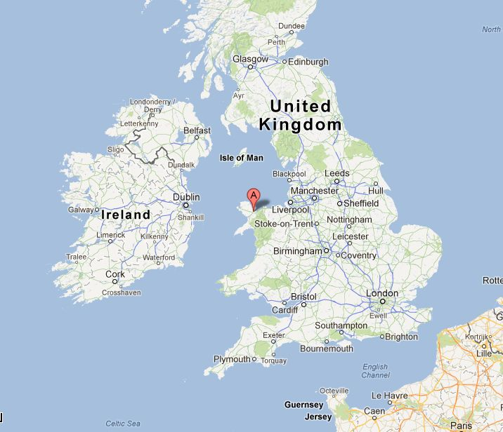 Anglesey Island Google Map