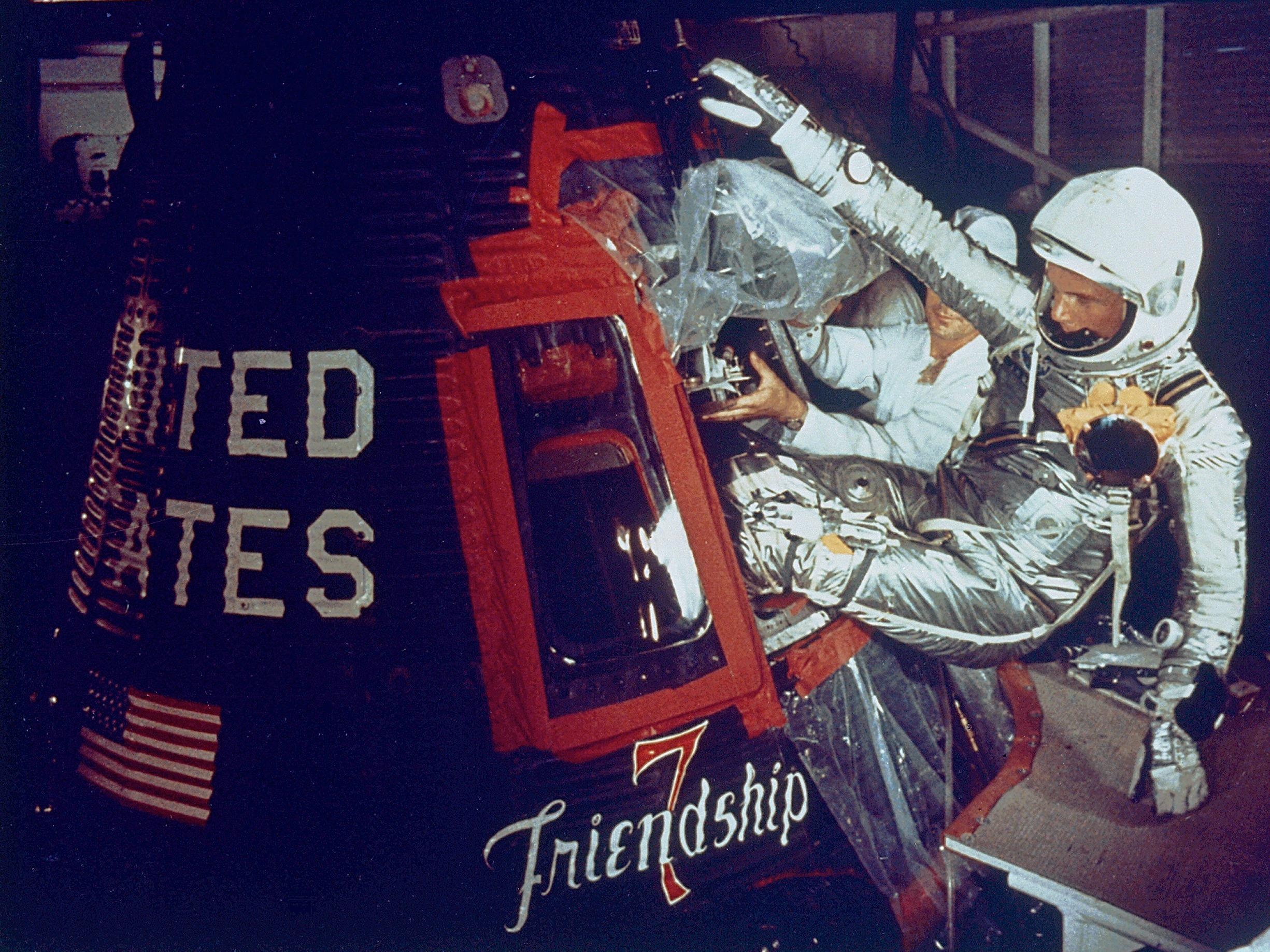 friendship 7 astronauts -#main
