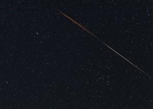 Colin Legg caught a meteor train and 2012 DA14