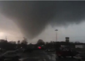 Adairsville, Georgia tornado January 30, 2013