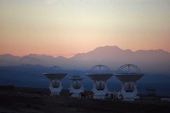 ALMA radio dishes. Image Credit: ESO