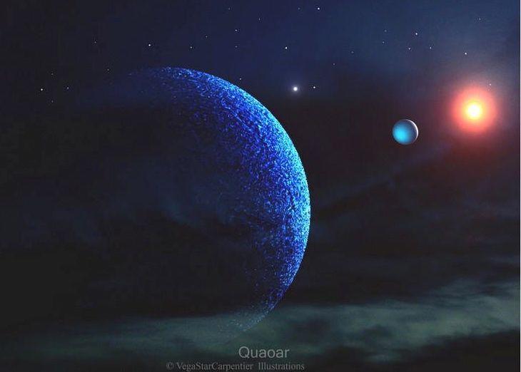 A rocky world orbiting beyond Neptune | Today's Image ...  A rocky world o...