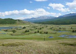 Altai Mountains in Russia
