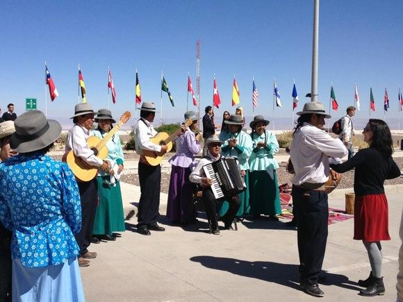 ALMA inauguration celebrations