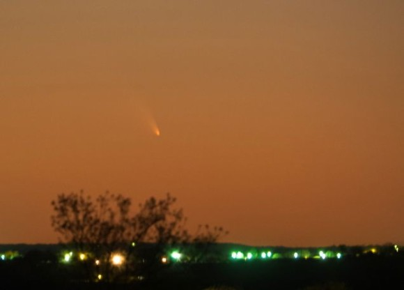 PANSTARRS on March 11, 2013 via Michael Lloyd