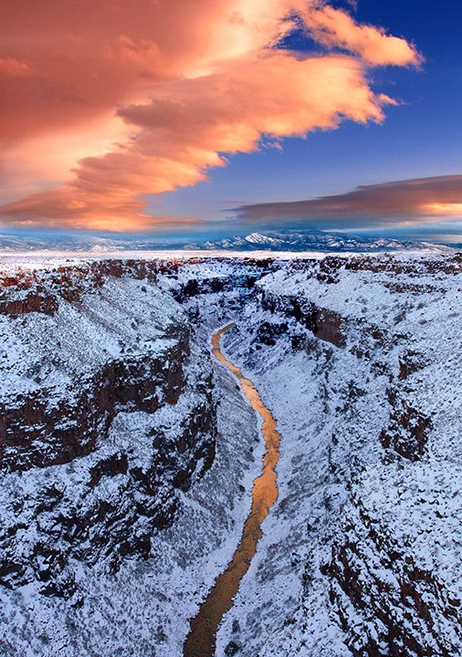 Rio Grande del Norte National Monument. Photo by EarthSky Facebook friend Geraint Smith. Thank you, Geraint.