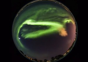 March 17 aurora via Goran Strand