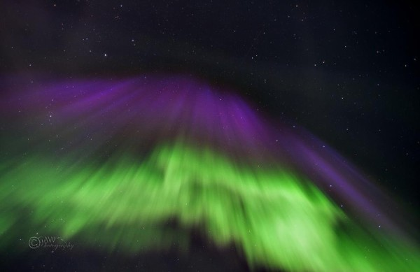 March 17, 2013 aurora from Geir Walmann in Norway.  Thank you, Geir!