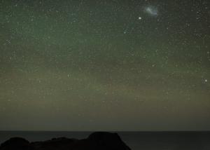 comets sweeping through skies