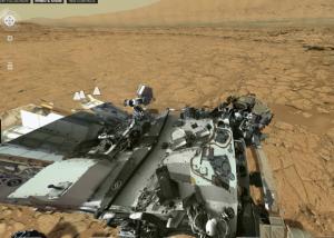 Mars panoram