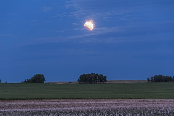Partial Lunar Eclipse (June 4, 2012)