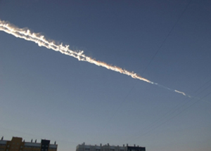 Fireball over Russia February 15, 2013