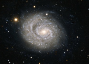 Spiral galaxy NGC 1637 – cosmic home of a supernova discovered in 1999.