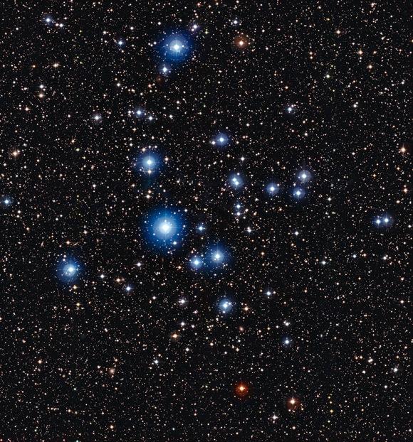 Star cluster NGC 2547
