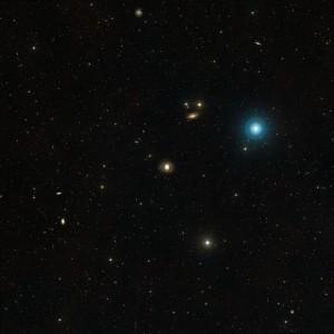 Wide field Messier 77