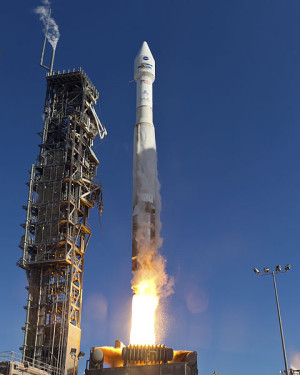 Landsat 8 launch February 12, 2013. Photo via NASA
