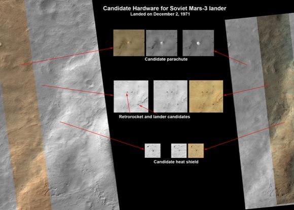Mars Soviet 3 Lander