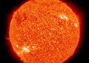 Our local star.  Image via NASA