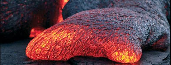 Ancient lava