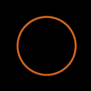 Photo of May 20, 2012 annular eclipse. Photo by Velo Steve