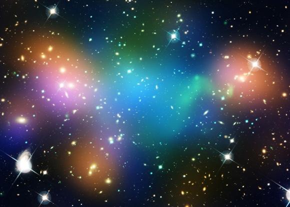 Researchers capture first image of a dark matter web