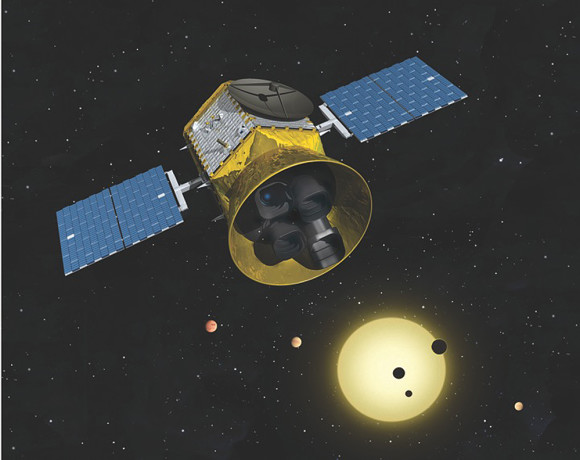 Next-generation exoplanet hunter TESS via MIT Kavli Institute for Astrophysics and Space Research.
