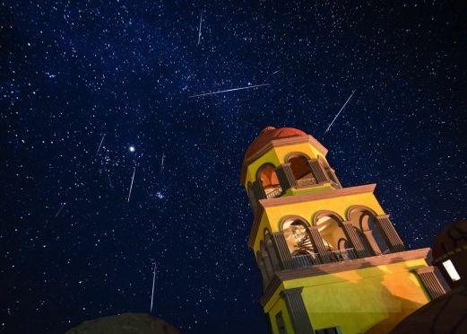 Meteors, by Sergio Garcia Rill.