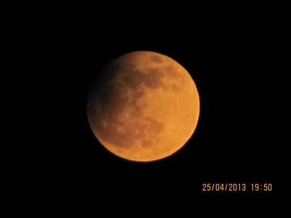 Our friend Andrew Brown captured this photo of the April 25 eclipse.