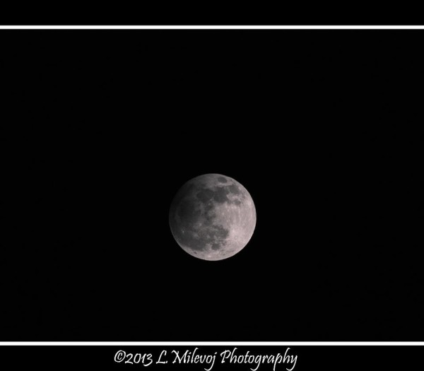 Luca Milevoj captured this photo of the April 25 partial eclipse. Thank you, Luca!
