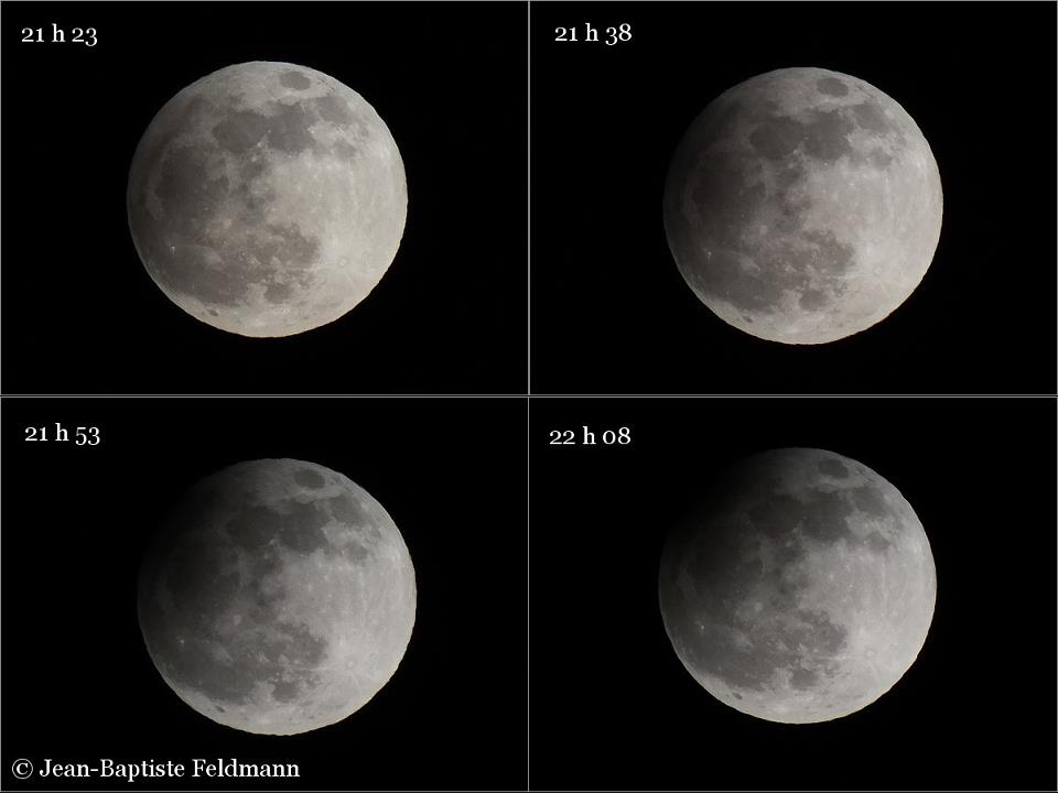 April 25, 2013 partial lunar eclipse from EarthSky Facebook friend Jean-Baptiste Feldmann in France.  Thank you, Jean-Baptiste!  View larger.