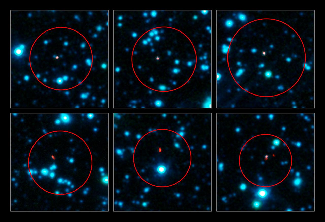 new galaxies