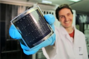 Peel and stick solar panel
