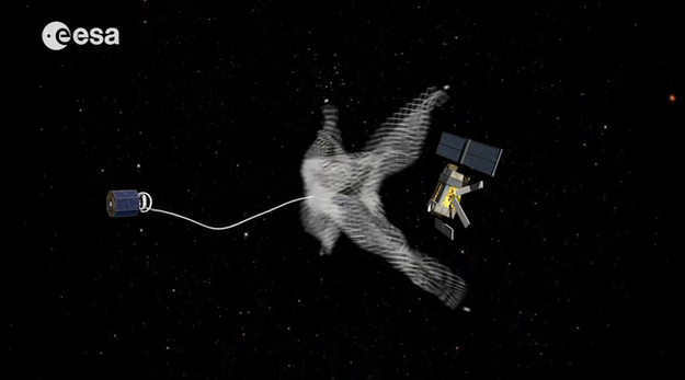 Concept for future deorbit mission via ESA