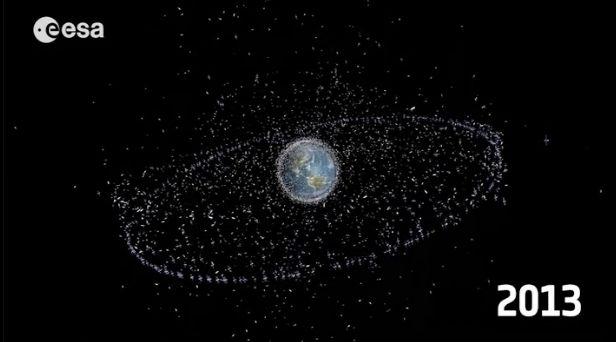 junk space earth orbit - photo #12