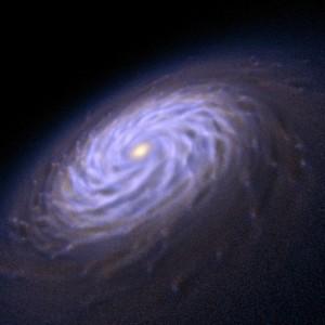 Sprial galaxy arm formations