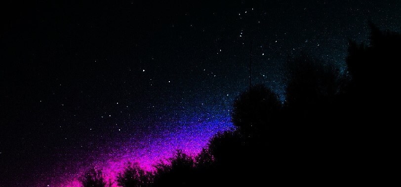 'Sky, art, science, mind, eternity,' by EarthSky Facebook friend Jay G. Davis