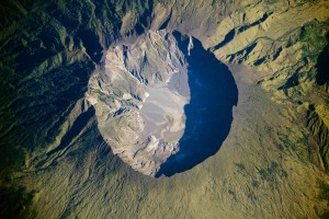 Tambora in 2009. Image via NASA