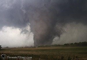 Shawnee, OK tornado on May 19 via Brett Wright