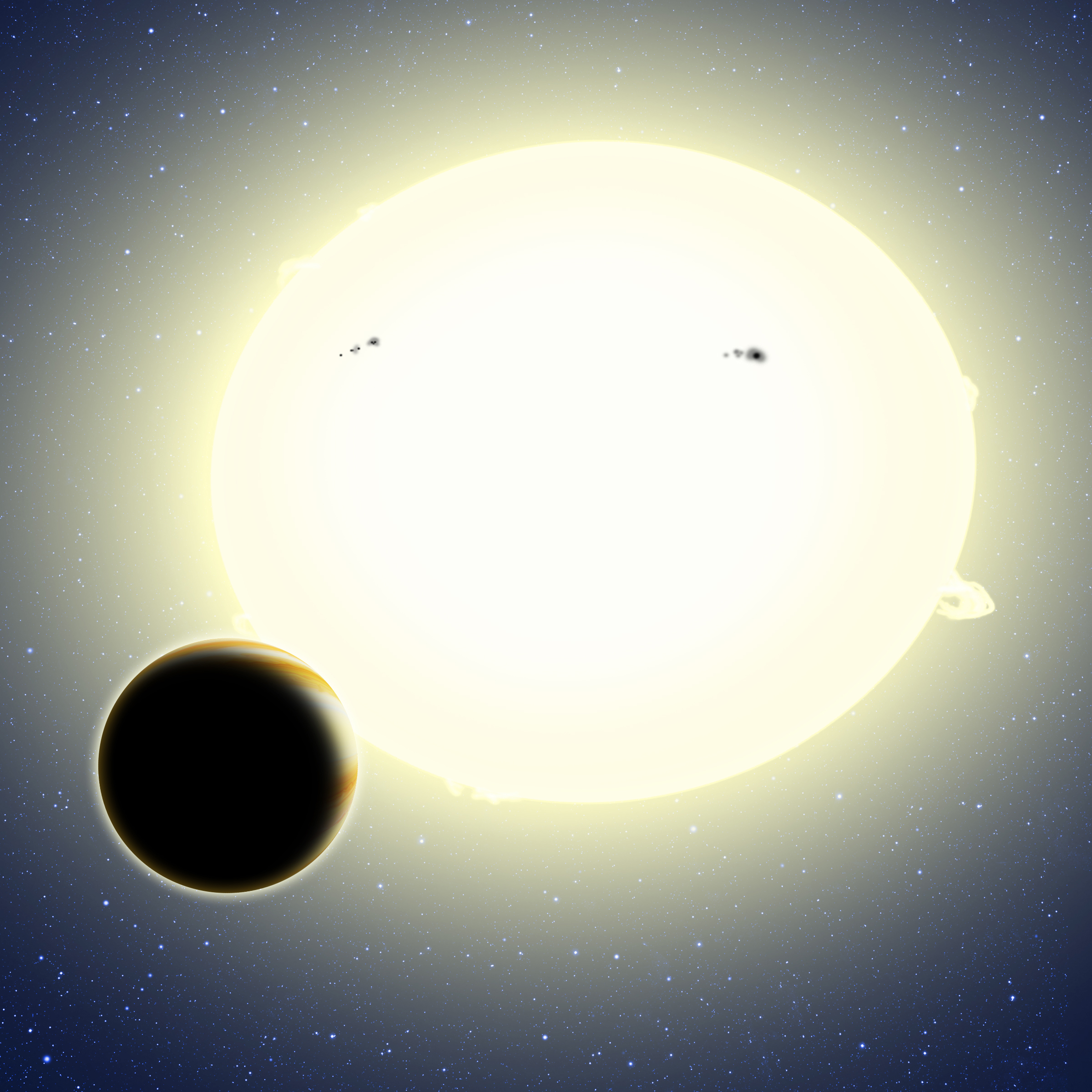 New method of finding planets scores its first discovery