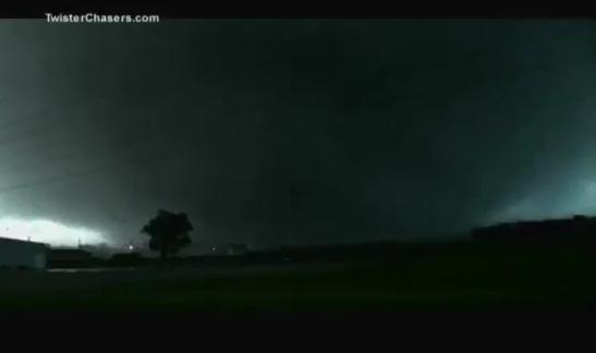 May 22, 2011 tornado in Joplin, Missouri via TornadoChasers.com