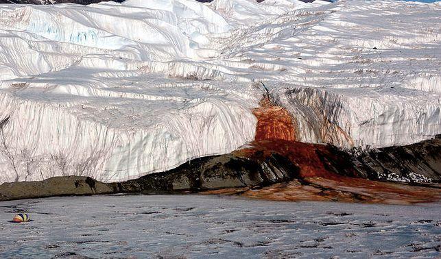 Origin of Antarctica's eerie Blood Falls