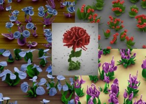 chemical flowers