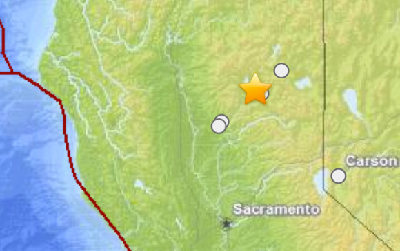 May 23, 2013 5.7-magnitude earthquake in northern California.