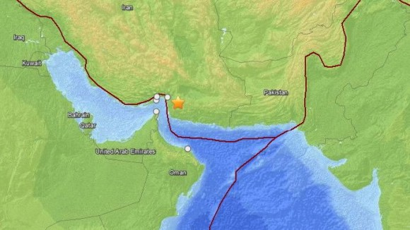 6.0-magnitude earthquake in southern Iran on May 11, 2013.