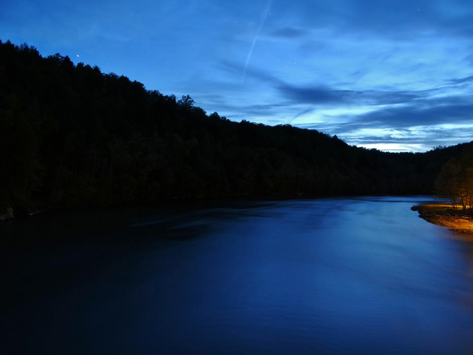 Cumberland River, Kentucky. Photo credit: Rick Trommater