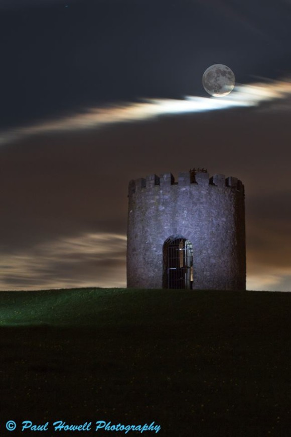 May 24 supermoon from our friend Paul Howell in Weston, England.