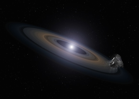 Hubble Telescope finds dead stars polluted with planet debris
