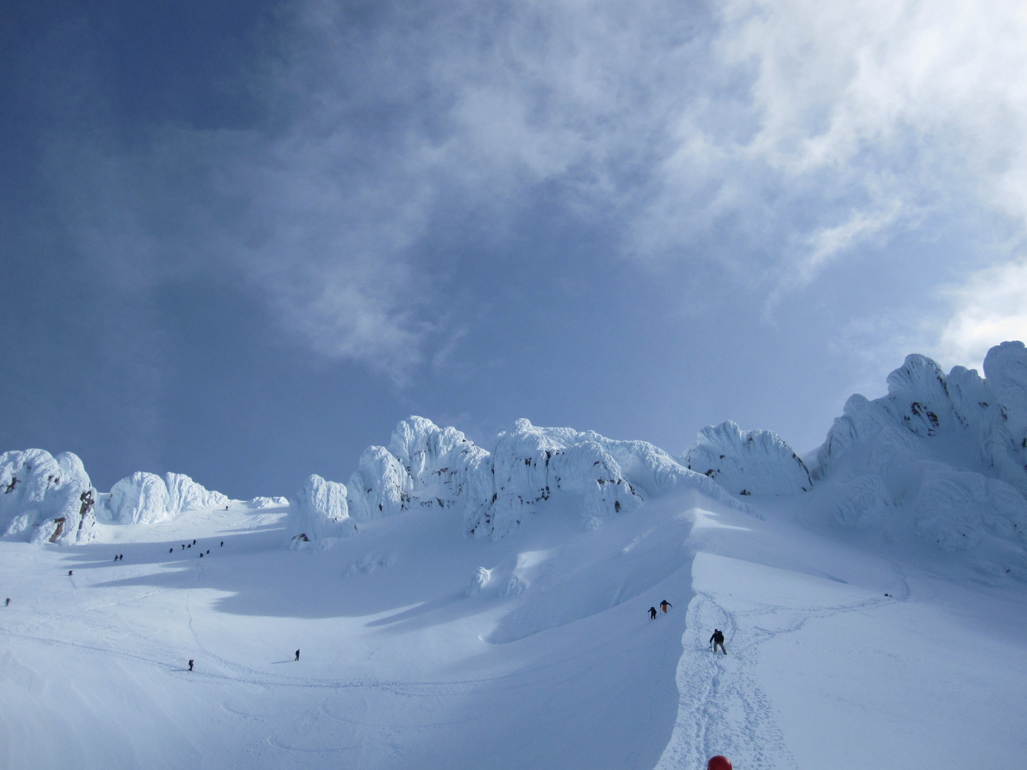Unknown climber views the summit on Mount Hood, June 1, 2013, by Thomas Poremba.