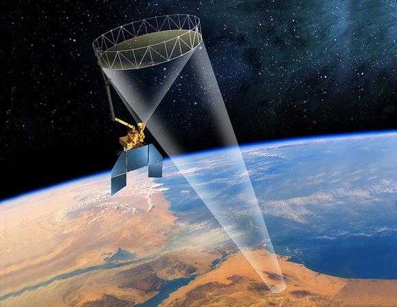 NASA-Soil-Moisture-Active-Passive-mission